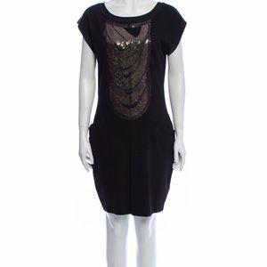 TED BAKER Bateau Neckline Knee-Length Dress